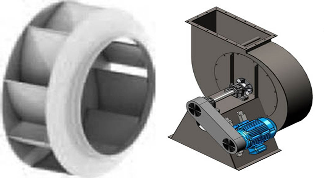 Direct Drive Impellers : Centrifugal blowers and impeller apzem