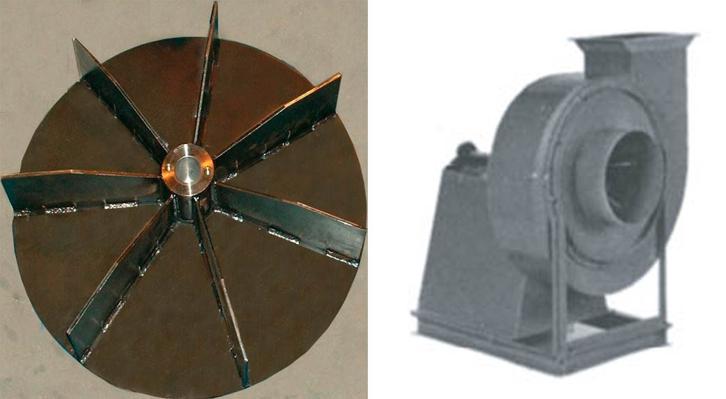 Centrifugal Blowers And Impeller Apzem