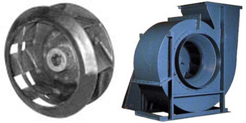 Backward Inclined Fan : Centrifugal blowers backward inclined blower exhausters